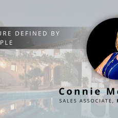 Welcoming Connie Melton