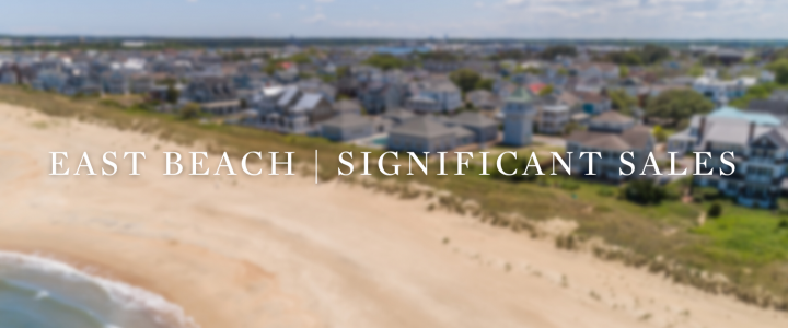 East Beach | Significant Sales