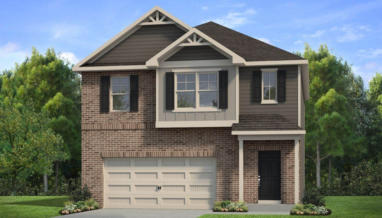 Single Family for Sale at Towne Center - The Layla Ii 11695 Brightside Parkway HAMPTON, GEORGIA 30228 UNITED STATES