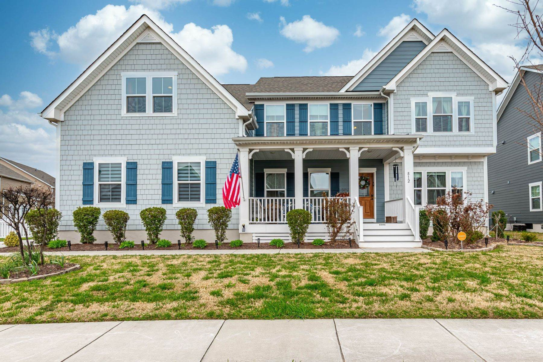 Single Family Homes for Sale at Culpepper Landing Estates 812 Canoe Street Chesapeake, Virginia 23323 United States